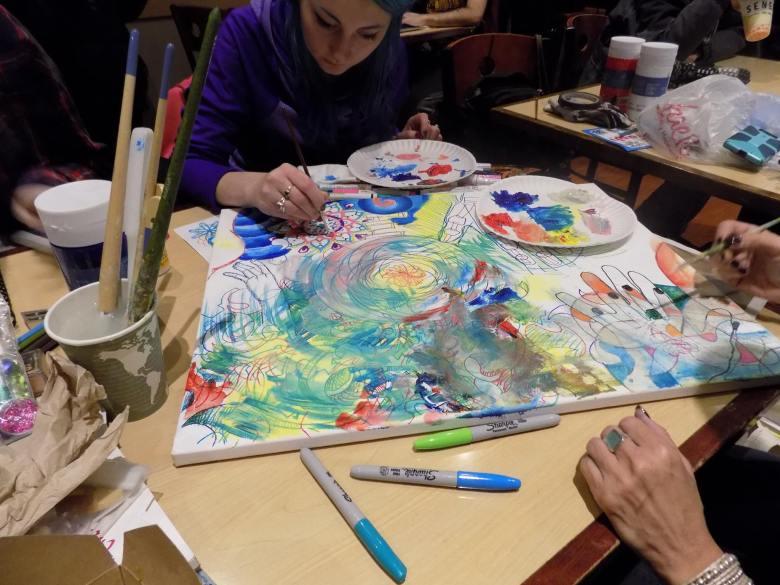 Artists Making Art Jan