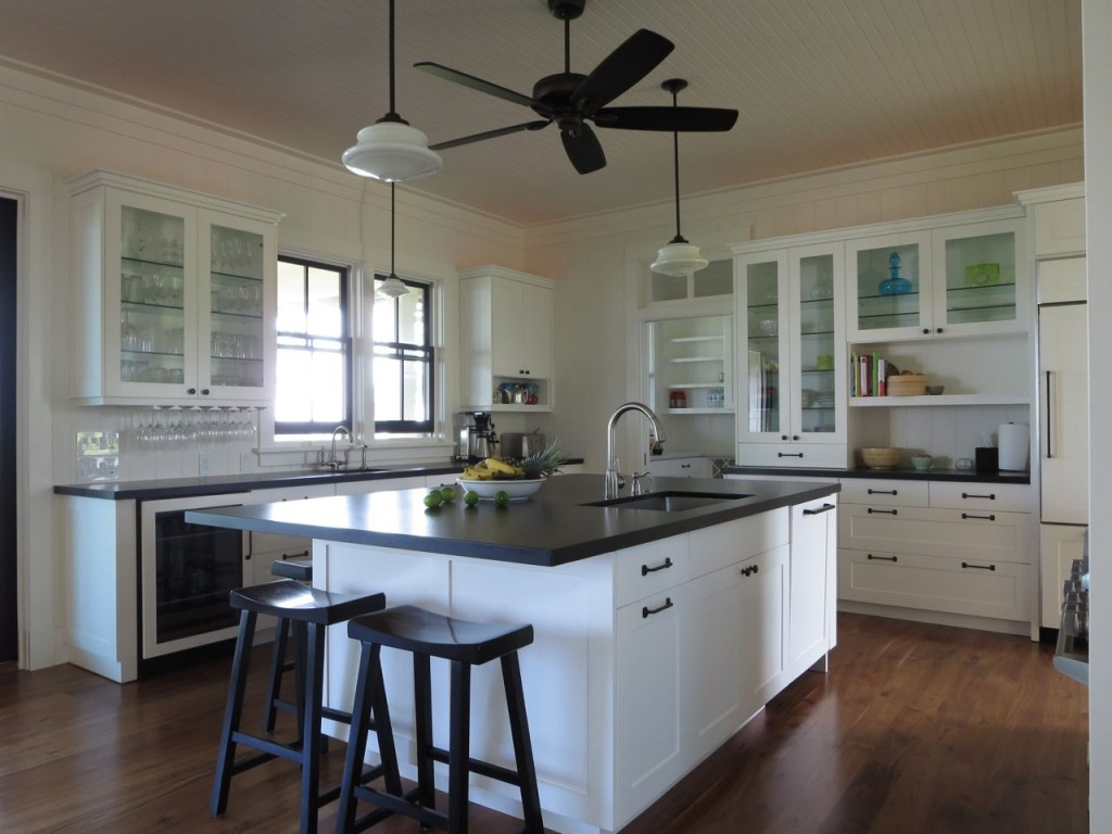 dreamyhouse beach kitchen cabinets Dreamy Kitchen in Kauai Beach House