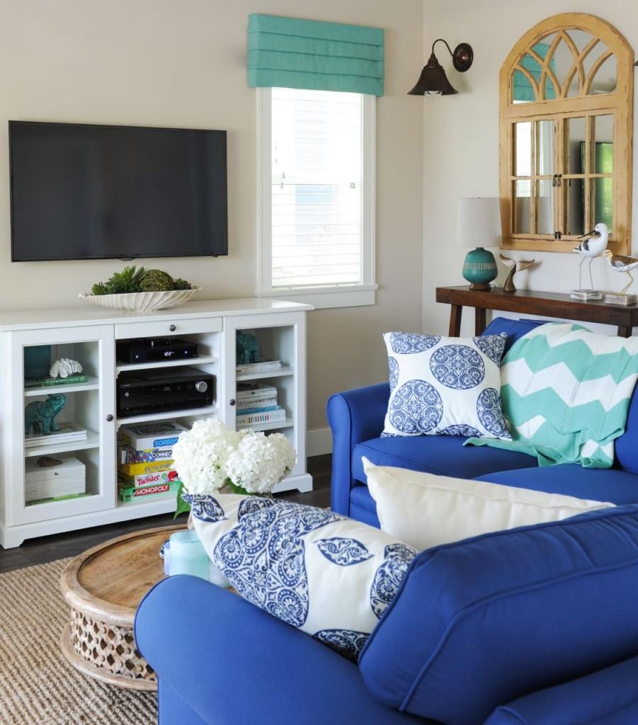 ... U2022 Relaxing Indigo Turquoise Summer House Fraser ...