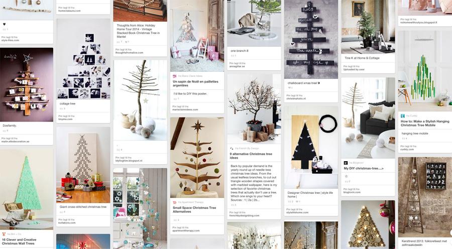 ADVENT - Alternative juletrær