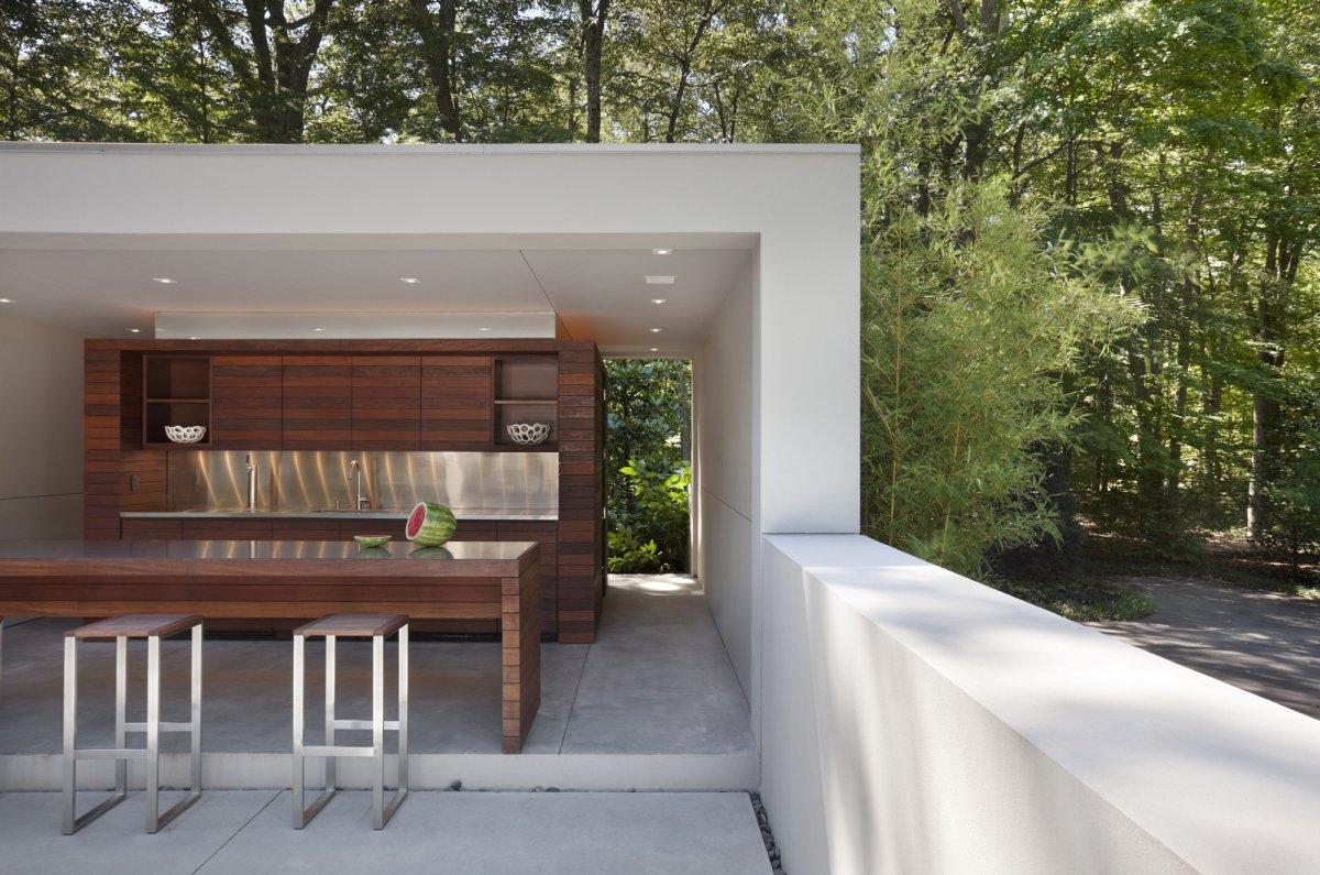 home inspiration modern outdoor kitchens outdoor kitchen design Home Design Inspiration Modern Outdoor Kitchens
