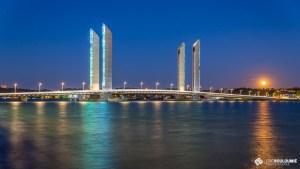 France, Gironde (33), Bordeaux, zone classé patrimoine mondiale de l'UNESCO