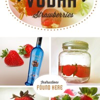 -DIY de la semaine - Chocolate Vodka Strawberries