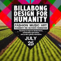 Billabong DESIGN FOR HUMANITY