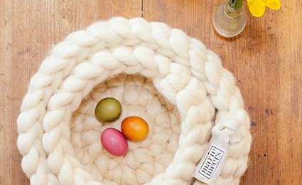 Ostern im Designer-Korb