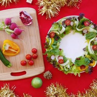 Christmas Wreath Salad