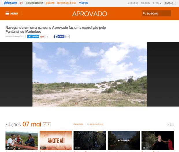 Programa Aprovado - Pantanal