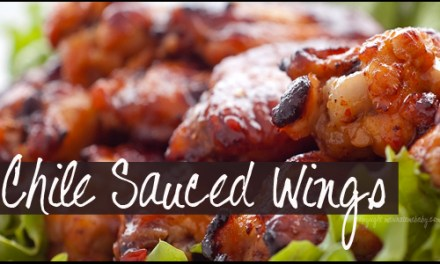 Chicken Wings in a Chile Sauce