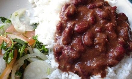 Rice and Beans – Cuban Style (Moros y Cristianos)