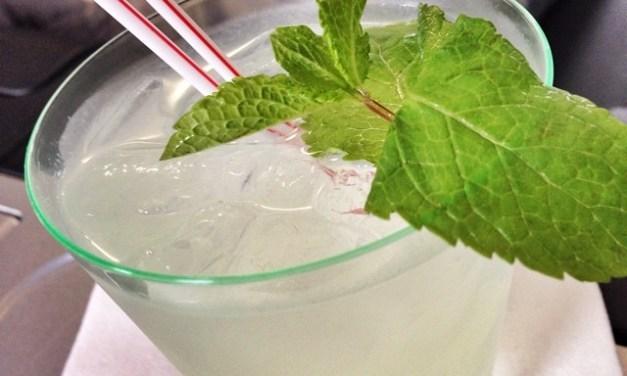 Homemade Mint Limeade (Cafe Rio Copycat)