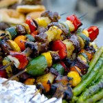 Spicy Citrus Maple Chicken Kabobs