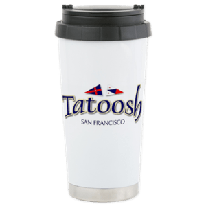 Stainless Travel Mug with boat name