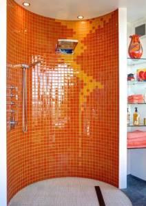 Orange Shower