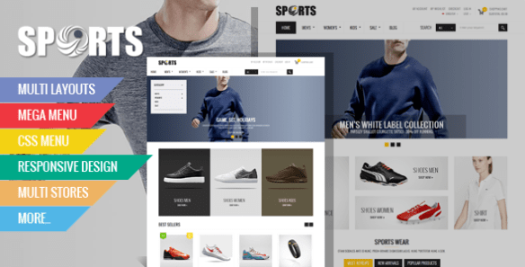 theme magento ovansport