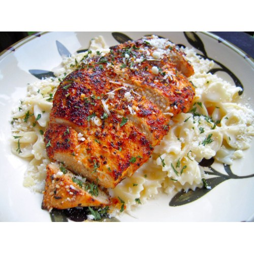 Medium Crop Of Blackened Chicken Recipe