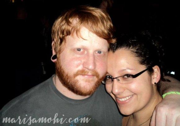 Chris and Marisa - six-year anniversary