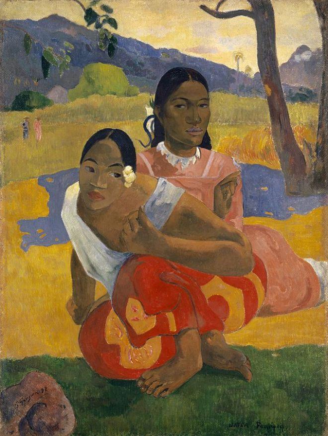 Nafea faa ipoipo ( Cuándo te casarás?) 1892