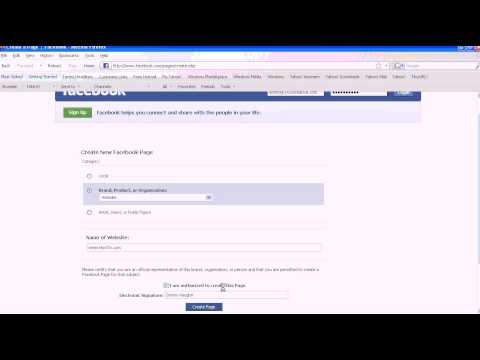 Cum se creaza o pagina pe Facebook