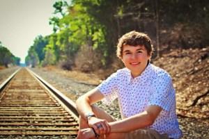 greg on tracks