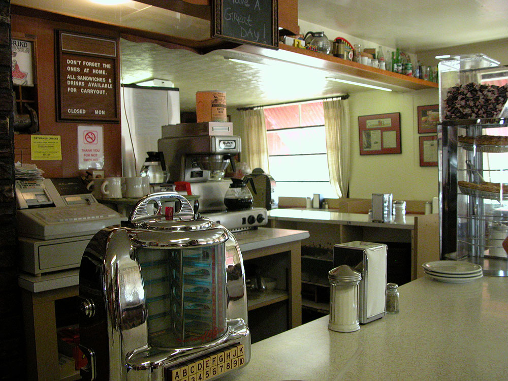 Mickey Lu Bar-B-Q restaurant, Marinette, Wisconsin