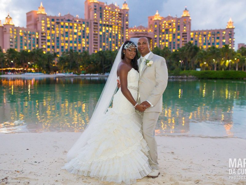 Wedding of Detrielle Ganier & Jordan Bailey