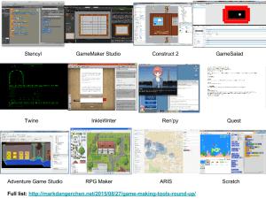Jam w Free Digital Game Making Apps!
