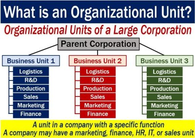 Organizational unit - definition and meaning - Market Business News