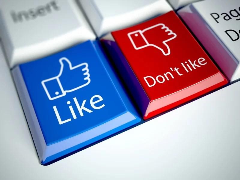 social media error