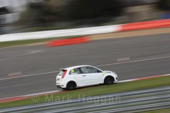 Aaron Thompson at Silverstone