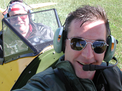 MLB and Rob Paulus in his Stearman
