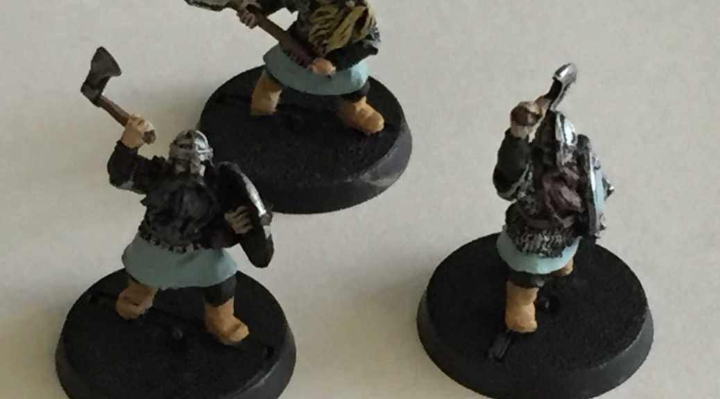 LOTR SBR Dwarf Warriors