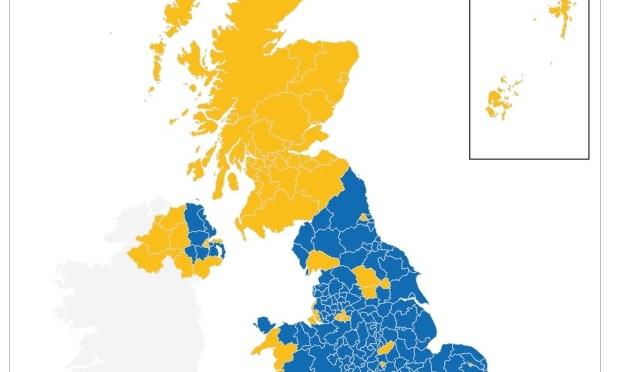 EU Ref Map