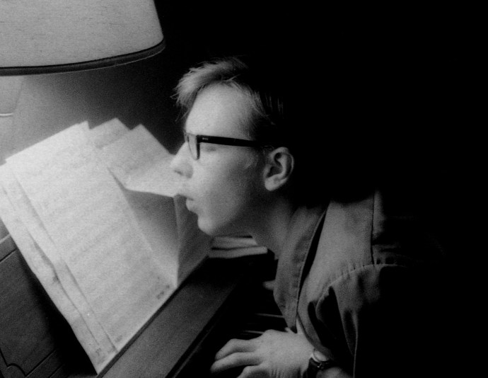 Me As Composer, 1971, b&w