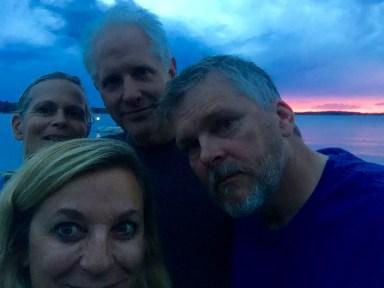 Lake selfie