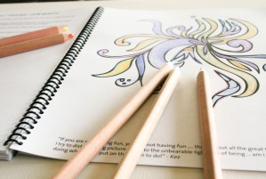 Outside your Lines - a chakra colouring book
