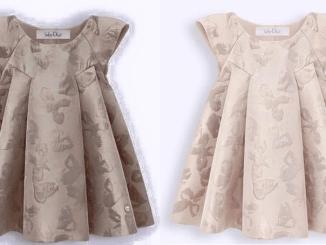 Este é um vestido diferente. Exige habilidade na montagem tanto do molde quanto da costura. Fiz esquema de modelagem para crianças de 1 a 14 anos.