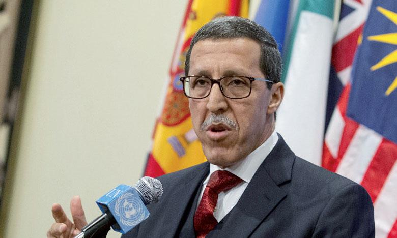 M. Hilale donne le coup d'envoi à Genève au processus onusien du Pacte mondial sur la migration