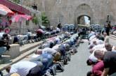 Al Qods: Les hommes de moins de 50 ans interdits d'accès à l'esplanade des Mosquées