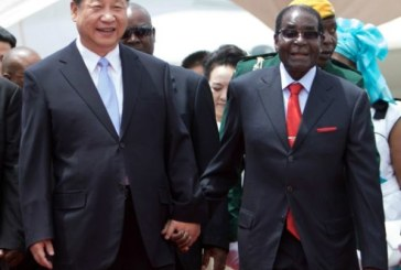 La Chine rend hommage à son «ami» Robert Mugabe