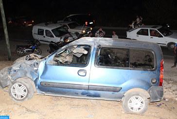 Accidents de la circulation en périmètre urbain: 11 morts et 1.805 blessés du 30 octobre au 05 novembre