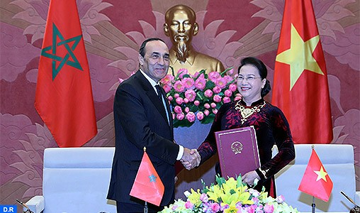 La coopération parlementaire entre le Maroc et le Vietnam souligne la profondeur des liens unissant les deux pays
