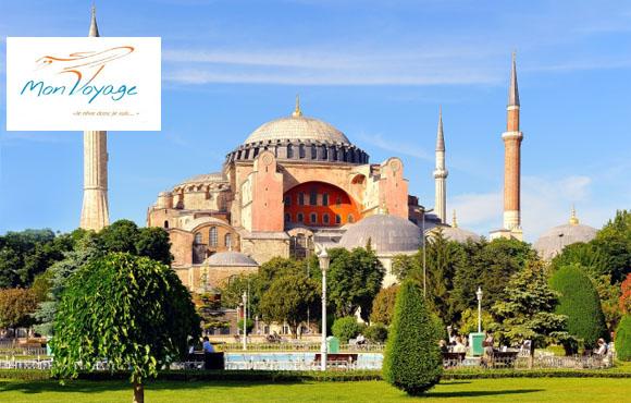 Istanbul 8J/7N: Découvrez la mythique Istanbul à seulement 8950dhs au lieu de 15000!