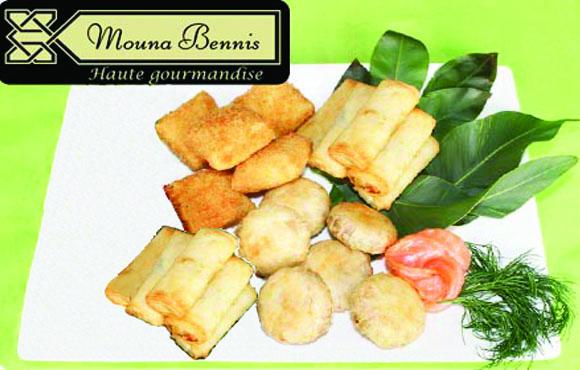Mouna Bennis Haute Gourmandise vous propose une escale bien gourmande avec 12 Pastillas et feuilletés à 59Dhs!