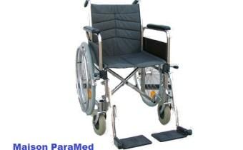 Chaise Roulante Pliable Simple en Promo