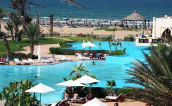 Palais des roses Agadir; Nuit pour 2 + enfant -6ans à 1040 dh avec petit déj