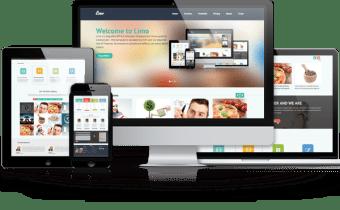 Site web vitrine: des pages illimitées avec nom domaine et hébergement inclus