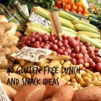 40 Gluten-Free Lunch and Snack Ideas