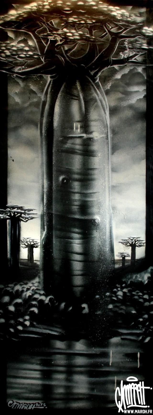 Maroh---Baobabakoto---2013---50cmx1