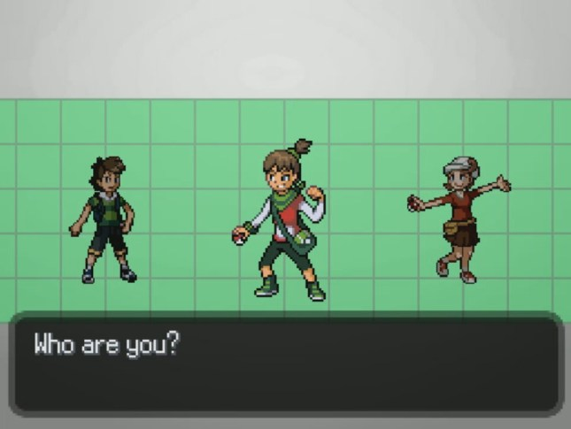 Pokemon Uranium Gender select