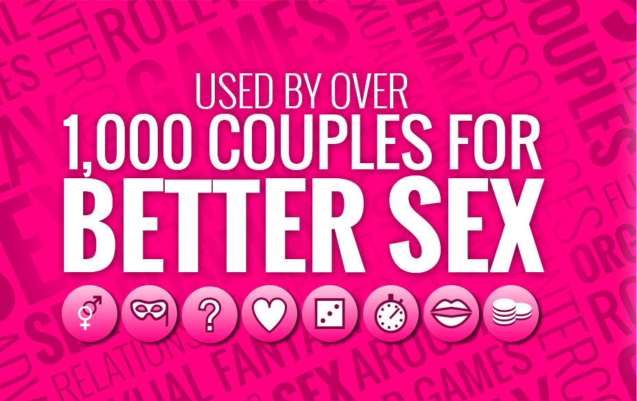 Used by over 1,000 couples for better sex